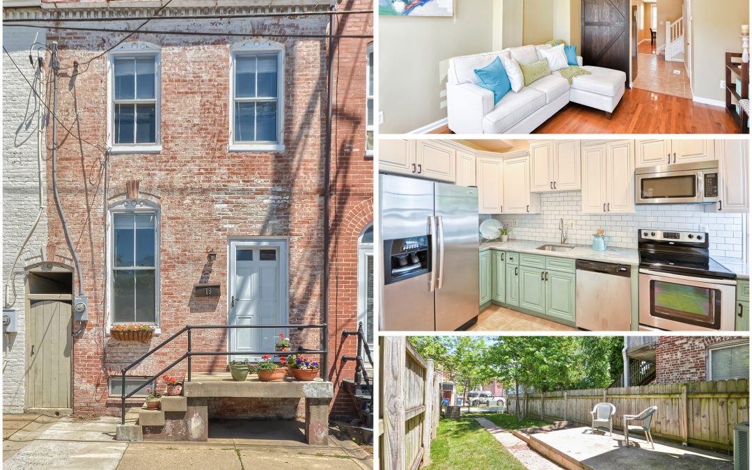 Historic downtown Frederick charmer has it all! (SOLD)