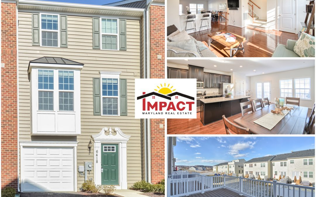 6418 NEWTON DRIVE, FREDERICK, MD 21703 (SOLD)