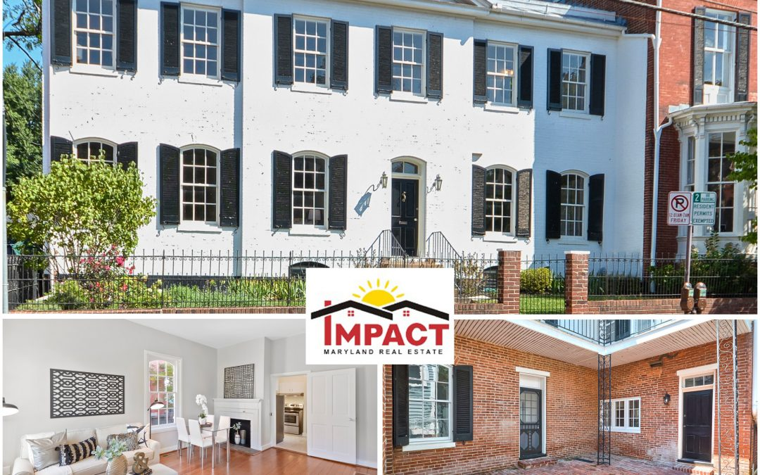 119B WEST CHURCH STREET, FREDERICK, MD 21701 (Sold)